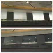 幕墙用光电玻璃和无放射投影雾化玻璃